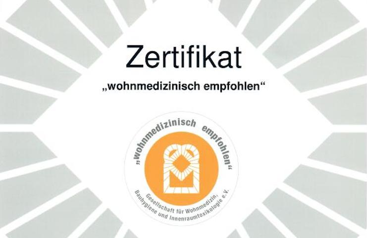 luftreiniger xg 800 Profi wohnmedizinisches zertifikat
