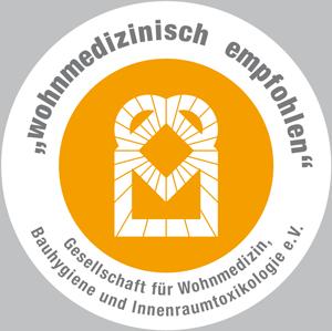 Logo Wohnmedizinisch empfohlen