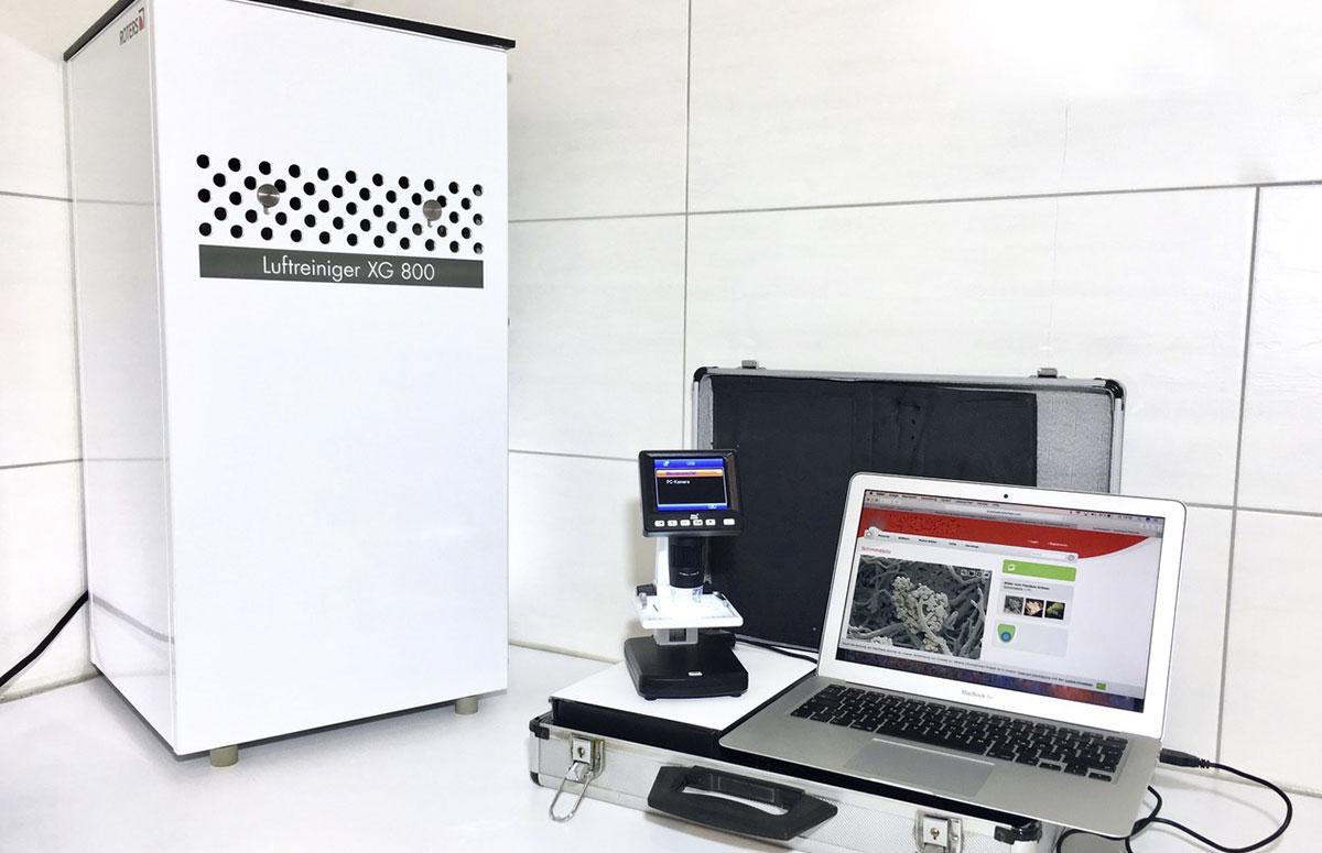 Unser XG 800 Profi im Test