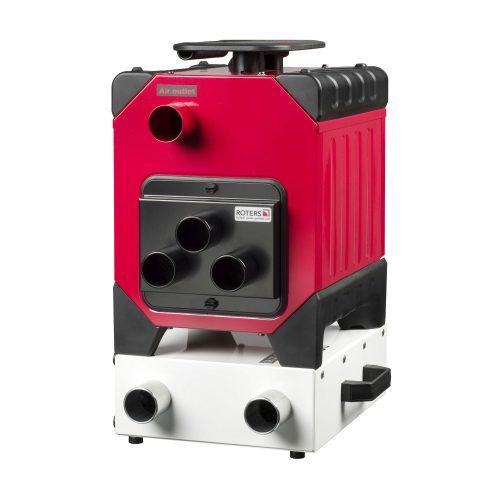 Roters - Corroventa Verdichter T2 ES - Corroventa Verdichter mit Turbine und Druckanzeige für die Dämmschichttrocknung - Bild 03