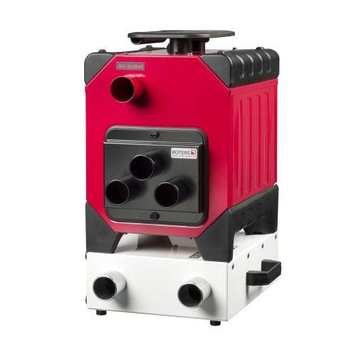 Roters - Filterpatrone für Corroventa Luftverteiler - Ersatzfilter für den Schutz der Turbine vor Grobstaub - Bild 04