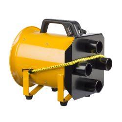 Roters - Luftverteiler 4 x 50  für G 1500 - Verteiler aus Aluminium zur Unterverteilung von Überdruckanlagen und Turbinen - Bild 01