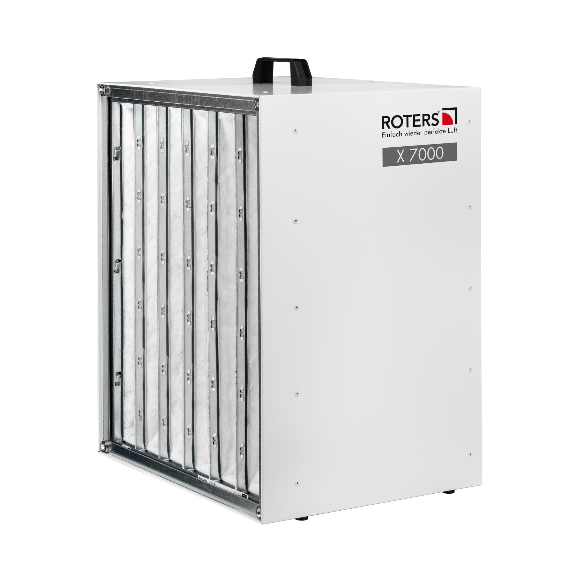 Roters - Staubfilterbox X 7000 - Box zur Filterung der Luft von Stäuben - Bild 01