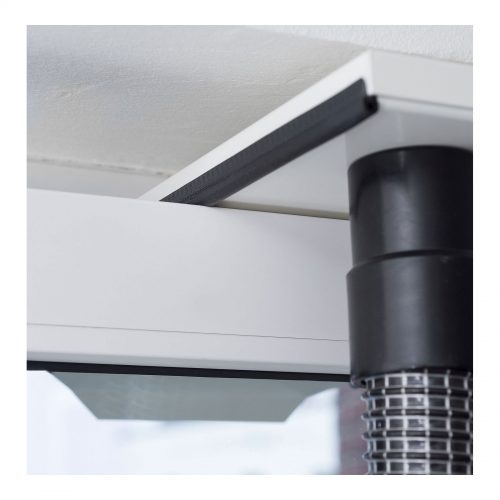 Roters - Fensterabluftdüse TA 50/50 - Fensterabluftdüse mit zweifachem Anschluss für Turbine und Trockner - Bild 02