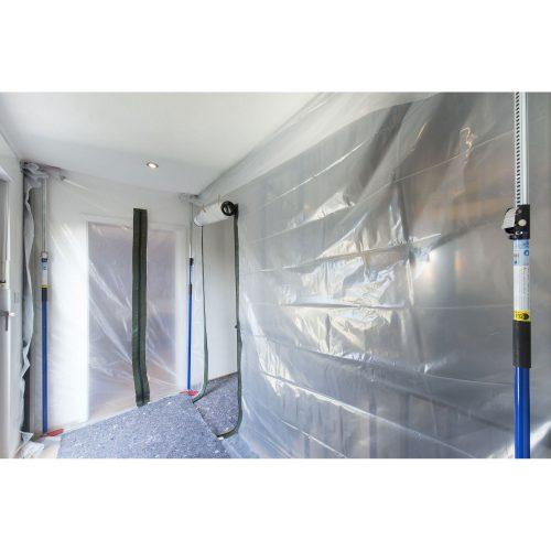 Roters - flexi-wall® Starterset Nr. 1 - flexi-wall ® ist eine revolutionäre Staubschutzwand für alle staubintensiven