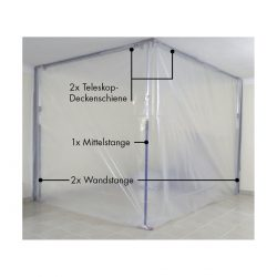 Roters - flexi-wall® Starterset Nr. 2 - Mobile Schutzwand für eine Gesamtlänge von 6