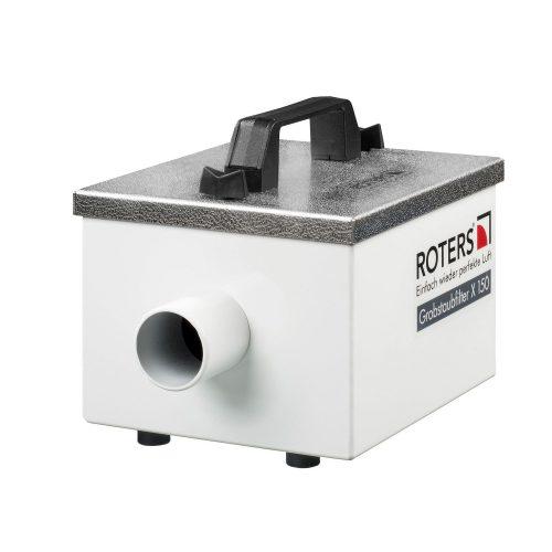 Roters - Grobstaubfilter X 150 - Filtergehäuse aus Edelstahl mit Filterschaumstoff - Bild 01
