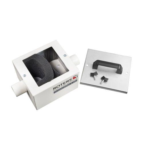 Roters - Grobstaubfilter X 150 - Filtergehäuse aus Edelstahl mit Filterschaumstoff - Bild 02