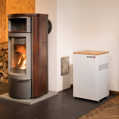 Roters - Luftreiniger XG 500 Design Buche H14 - Design Luftreiniger mit Hepafilter