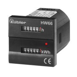 Roters - Kübler HW 66 MID Zeit- Energiezähler - Zähler von Kübler zur Messung der Zeit und des Energieverbrauchs - Bild 01