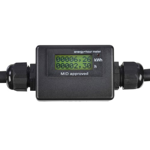Roters - Zwischenstecker mit geeichtem Energiezähler - Zwischenstecker zur Messung von Betriebsstunden und Energieverbrauch - Bild 02