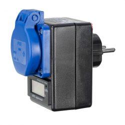 Roters - Zwischensteckdose mit geeichtem Energiezähler - Steckdose zur Messung des Energieverbrauchs - Bild 01