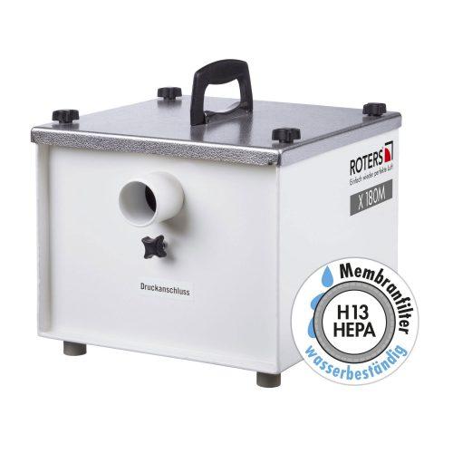 Roters - HEPA-Filter X 180M - Hepa Filter für die Bautrocknung mit Membranfilter - Bild 01