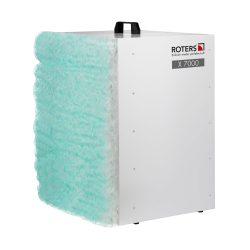 Roters - Filterpatrone G2 Farbnebel für X 7000 - Taschenfilter zur Abscheidung von Grob- und Feinstäuben im Baugewerbe - Bild 02