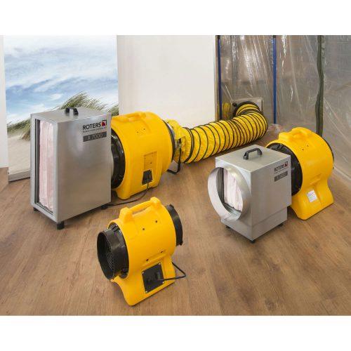 Roters - Gebläse G 3900 / BL 6800 - Gelbes Gebläse mit robustem Ventilator für die Staubabsaugung - Bild 02