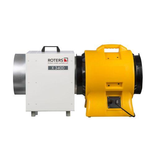 Roters - Gebläse G 3900 / BL 6800 - Gelbes Gebläse mit robustem Ventilator für die Staubabsaugung - Bild 03