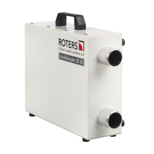 Roters - Schalldämpfer SD 80 - Leichter Schalldämpfer aus Aluminium - Bild 01