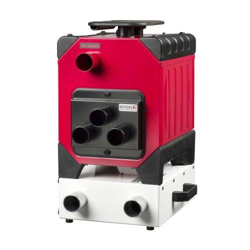 Roters - Luftverteiler 3 x 50 für Corroventa T2-T4 /ES - Verteiler mit drei Anschlüssen mit Carbonfilter für Corroventa Turbine - Bild 03