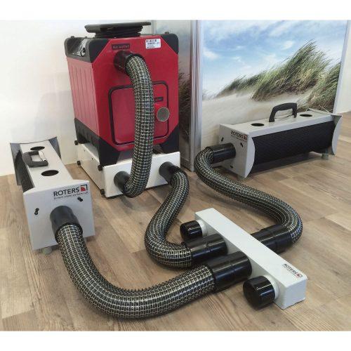 Roters - Luftverteiler 4 x 50 auf 50 - Verteiler aus Aluminium zur Unterverteilung von Überdruckanlagen und Turbinen - Bild 04