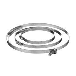 Roters - Schlauchschelle für Schlauch 160 mm VPE 10 - Schlauchschelle aus Edelstahl für die Verbindung von Schläuchen - Bild 01