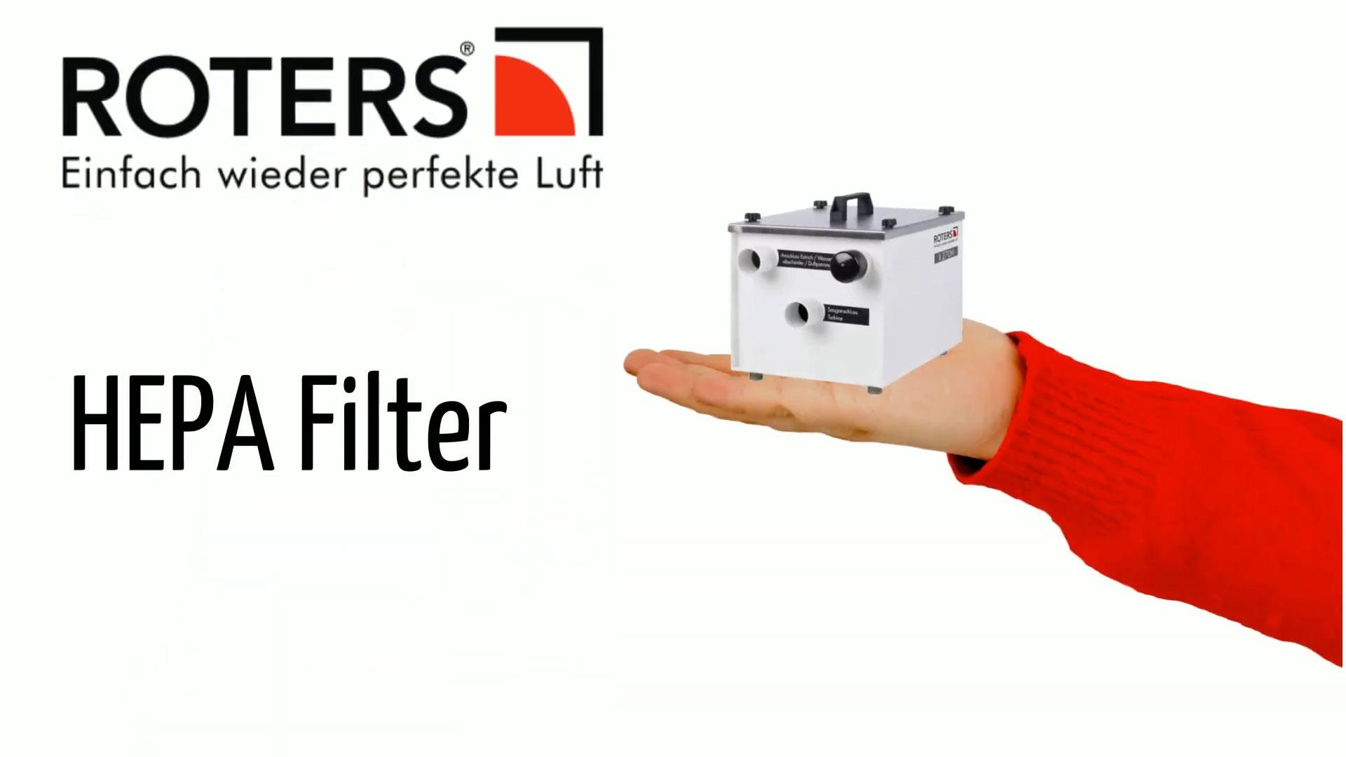 HEPA-Filter im Detail