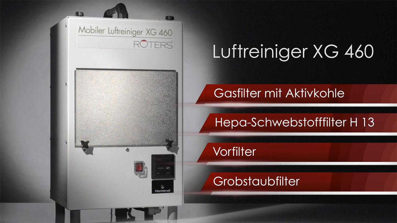 ROTERS Mobiler Luftreiniger XG 460