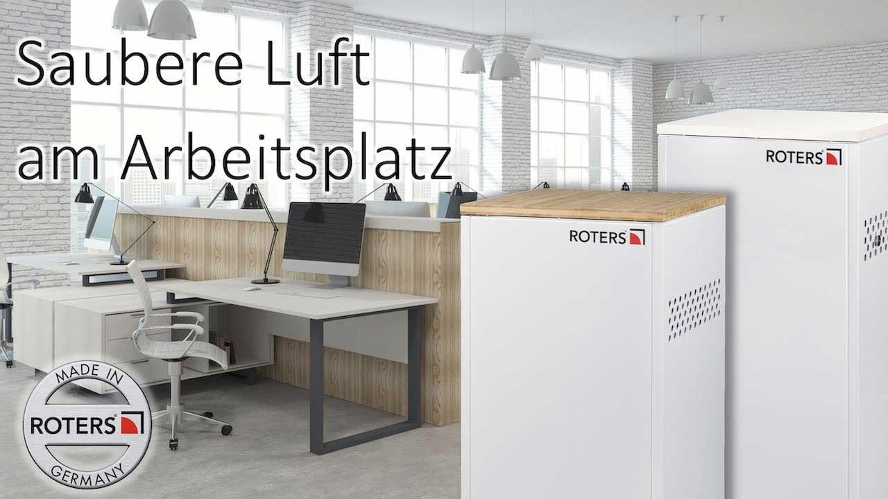 Saubere Luft für Arbeitsräume
