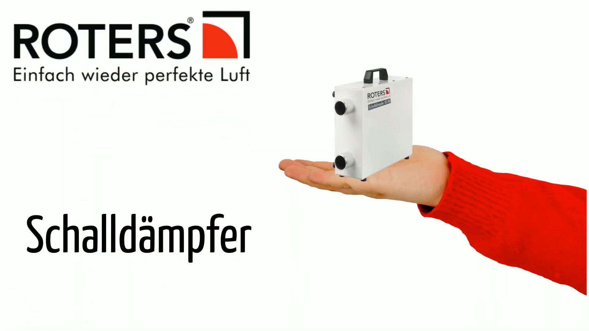 Schalldämpfer und HEPA-Filter