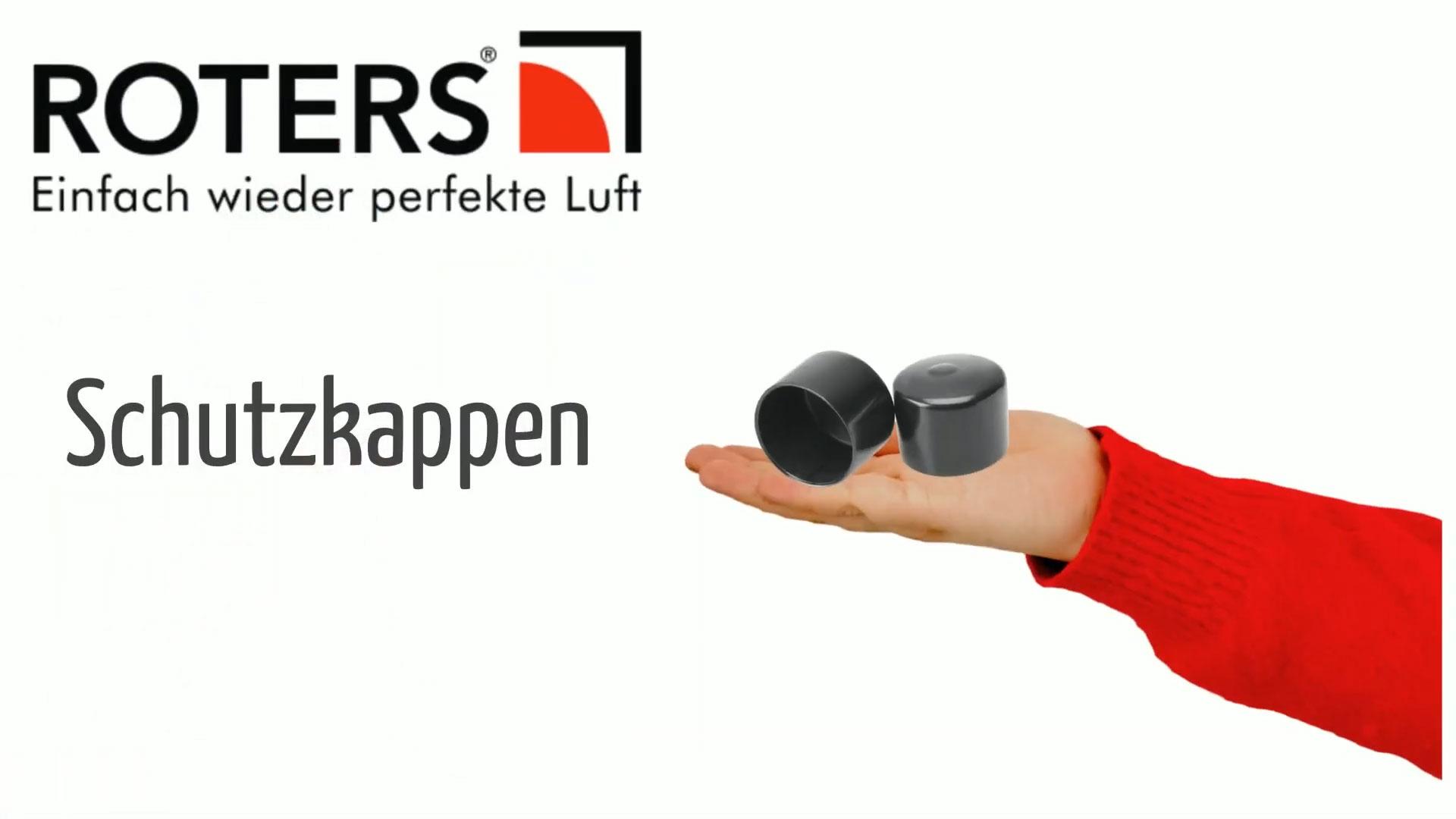 Schutzkappen für Düsen und Filter